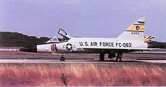 86th Air Division - 496th FIS F-102 about 1965