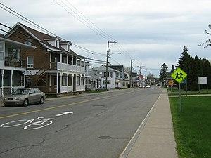 Grand-Mère, Quebec - 50e Avenue in Sainte-Flore. Sainte-Flore was a separate parish municipality until 1970 when it was amalgamated into Grand-Mère.