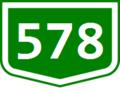 578 (Hu) Otszogletu zold tabla.png