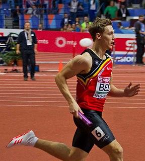 Julien Watrin Belgian sprinter
