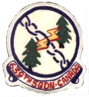 639th Aircraft Control and Warning Squadron - Emblem of the 639th Aircraft Control and Warning Squadron