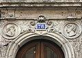 78 Rue du Président Édouard Herriot (Lyon) - reliefs.JPG