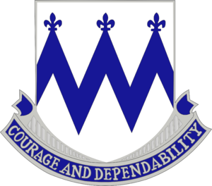 86th Infantry Regiment (United States) - Image: 86 Inf Rgt DUI