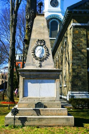 George Clinton (vice president) - The grave monument of George Clinton in Kingston, New York