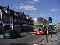 92 bus on Greenford Road, Sudbury - geograph.org.uk - 2219860.jpg
