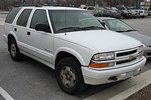 1999 2001 Chevrolet Blazer Trailblazer