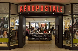 Aéropostale (clothing) - Aéropostale store in Promenade, Thornhill, Ontario.