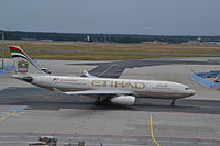 A6-EYS - A332 - Etihad Airways
