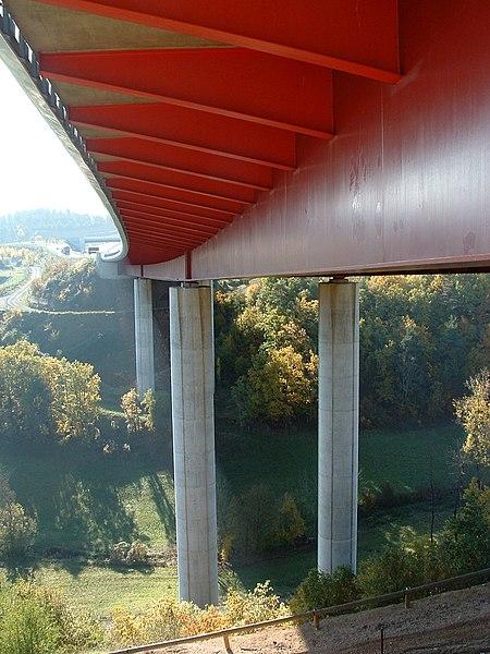 Autoroute A75 - Viaduc de la Planchette