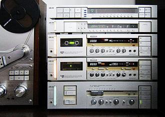 Akai - Stack of historical AKAI machines