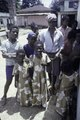 ASC Leiden - F. van der Kraaij Collection - 01 - 009 - Saye Town. Elementary school group of children in front of a school building - Monrovia, Sinkor, Montserrado County, Liberia, 1976.tiff