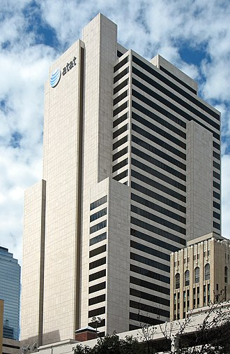 Whitacre Tower - Image: AT&THQ Dallas