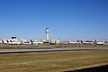 ATL AIRPORT WITH MANY DELTA PLANES FROM 777 N860DA DELTA FLIGHT ATL-JFK (16483092450).jpg