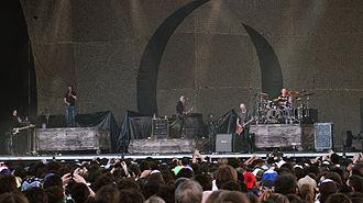 A Perfect Circle - A Perfect Circle performing at Lollapalooza Chile in 2013