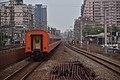A TRA Chu-kuang Express heading toward Shulin Station from South Shulin Station 02.jpg