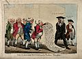 A deputation of dissolute surgeons to the Lord Chancellor. C Wellcome V0010913.jpg