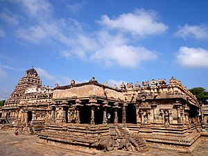 Airavatesvara Temple - The main temple