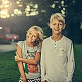 A girl and a boy with blond hair-3315770.jpg