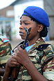 A member of the Cameroonian air force stands in formation during the opening ceremony of Central Accord 14 at the 102nd Air Force Base Airfield in Douala, Cameroon, March 11, 2014 140311-A-DO086-401.jpg