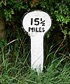A mile marker along the Grantham Canal - geograph.org.uk - 945190.jpg