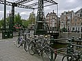 A photo of the iron bascule bridge near Kadijksplein over Nieuwe Herengracht, Amsterdam; high resolution image by FotoDutch, June 2013.jpg