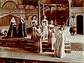 "A scene from ""Everyman"" at Christensen Hall, Dec 1904 (SAYRE 12845).jpg"