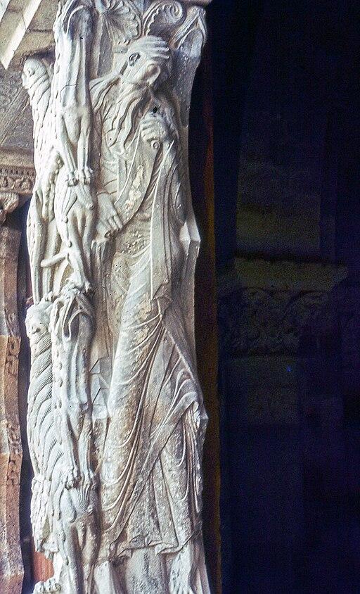 Abbatiale Saint Pierre de Moissac-Isaïe-19820520