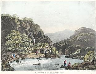 Aberedow Mill, South Wales