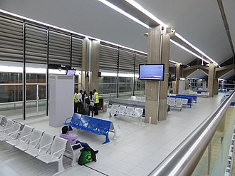 Port Bouet Airport - Departure gates