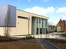 Abingdon and Witney College, new building at Witney campus.jpg