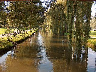 Ablach (Danube) River in Germany