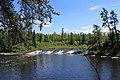 Acorn Falls, Pine Point Trail, Whiteshell Provincial Park, Manitoba (492661) (9498805451).jpg