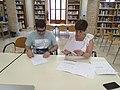 Acte de signatura del conveni marc de col·laboració entre Wikimedia España i el Col·legi de Bibliotecaris i Documentalistes de la Comunitat Valenciana 04.jpg