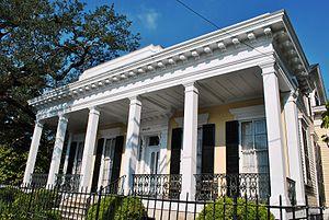Garden District, New Orleans - Adam-Jones House