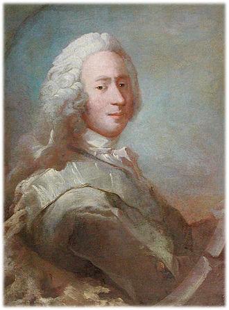 Adam Gottlob Moltke - Portrait of Moltke by Carl Gustaf Pilo, Frederiksborg Palace