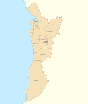 Adelaide divisions overview 2010
