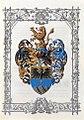 Adelsdiplom - Roschitz von Roschitzberg 1897 - Wappen.jpg