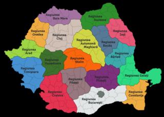 Regiuni si raioane 1952-1956