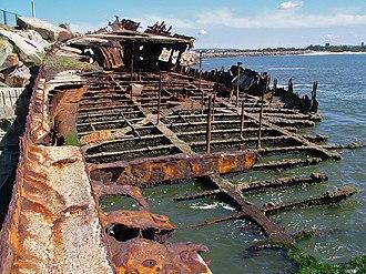 Adolphe (ship) - Image: Adolphe wreck 1
