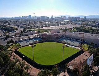 Cashman Field Stadium in Las Vegas, Nevada