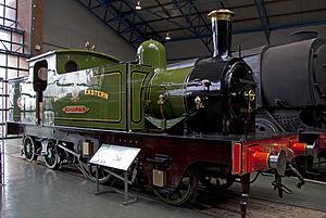 NER 66 Aerolite - 66 Aerolite preserved in the National Railway Museum