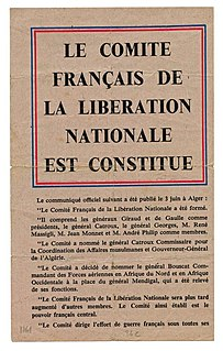 French Committee of National Liberation