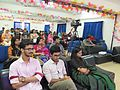 Afifa Afrin, Wakim and Nahid Sultan in panel discussion of All Women Workshop on Wikipedia at 5th National WUB 2016, ComTech Festival at World University, Dhaka, Bangladesh in 24 November 2016 01.jpg