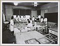 African American and white women learning to can food in cooking class kitchen 09716v.jpg