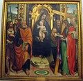 Agostino marti, madonna col bambino e santi (lucca), 1513, da carrara.JPG