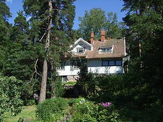 Ainola home of Aino and Jean Sibelius in Järvenpää, Finland