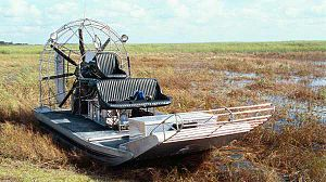 Airboat - An airboat