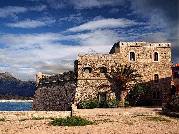 Monument historique à Algajola