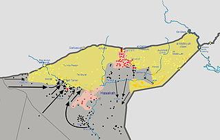 Al-Hasakah offensive in progress, February 24, 2015