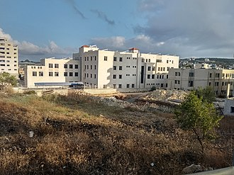 Salfit - The al-Quds Open University campus in Salfit, 2018